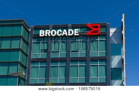 Brocade Communications Systems Headquarters And Logo