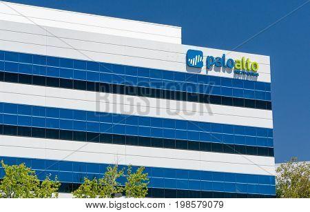 Palo Alto Networks Headquarters And Logo