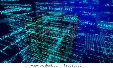 Background,technology,digital,binary,data,code,network,abstract,illustration,earth,concept,internet,