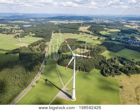 Wind turbines generators for sustainable and clean electricity