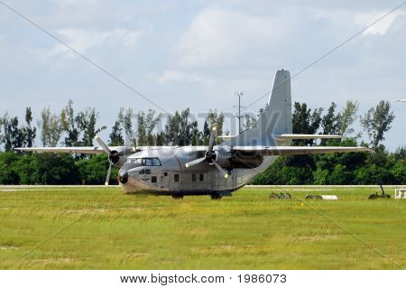 Retro Turboprop Aircraft