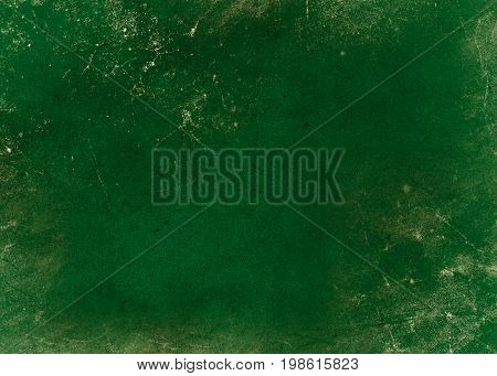 Green background of school blackboard dark colored texture
