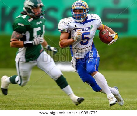 June 2008 Austrian Football League semi-finals - Danube Dragons playing against the Graz Giants - June 2008