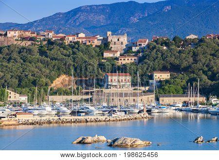 Corsica Island, France. Summer Coastal Landscape