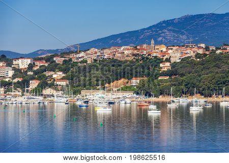 Corsica Island, France. Porto-vecchio Town