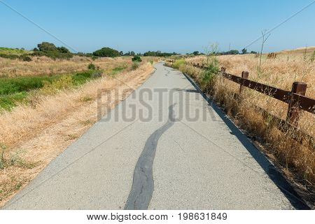 Paved Pedestrian Trail