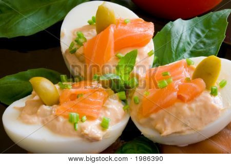 Eggs And Salmon