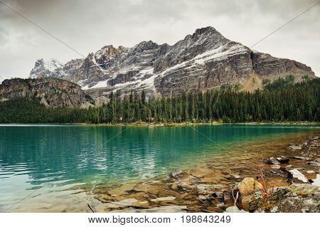 Lake O'hara, Yohu National Park, Canada.
