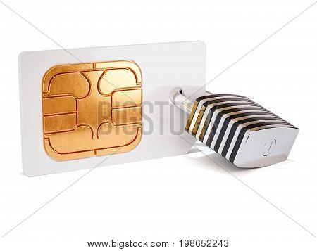 Simcard Security Protection Concept