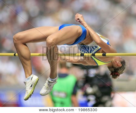 Istaf Berlin International Golden League Athletics held at Berlin's Stadium (Olympic Stadium) 1st June 2008