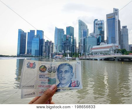 Singaporean Dollar Banknotes