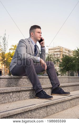 One Young Caucasian Man, Blank Expression, Business Suit, Formal Wear, Ordinary Common Person Portra
