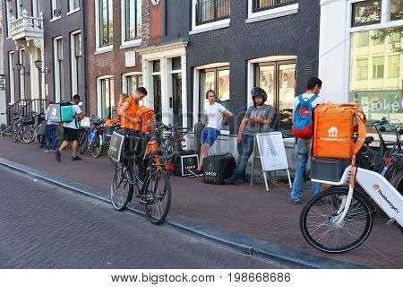 Bicycle Food Delivery