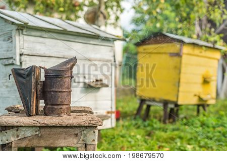 Beekeeping Equipment - Bee Smoker, Process Of Obtaining Honey, Own Safety
