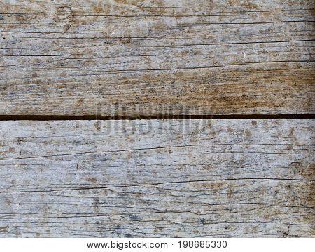 cracked, gray and weathered Horizontal Worn Wagon Wood