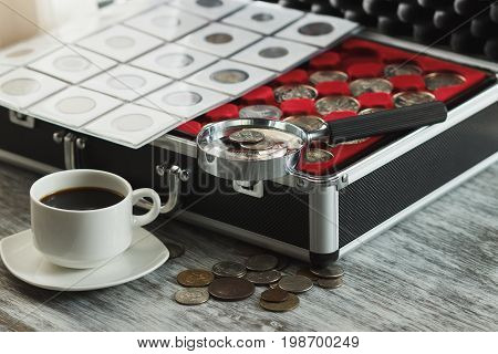 Different Gold And Silver Collector's Coins