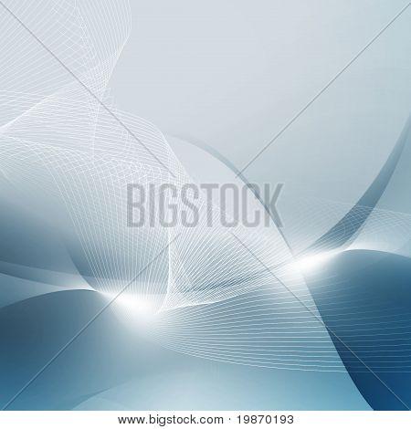 Abstrac Blue Digital Space