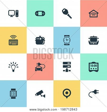 Vector Illustration Set Of Simple Web Icons