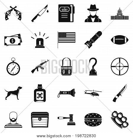 Pellet icons set. Simple set of 25 pellet vector icons for web isolated on white background