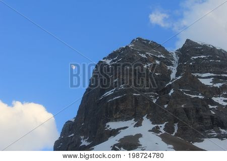 Rearguard Mountain in Mount Robson Provincial Park