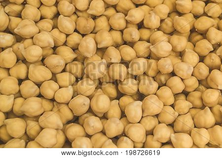 Boiled chickpeas, pictures of boiled canned chickpeas for cooking