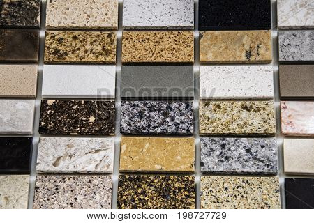 Tile floor. Granite tile flooring. Bathroom flooring tiles. Tiled flooring of marble. Rectangular tile flooring.