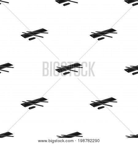 Drawing set of architect icon in black design isolated on white background. Architect symbol stock vector illustration.