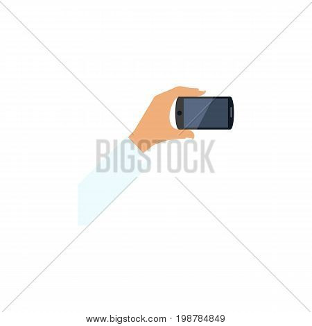 Smartphone Vector Element Can Be Used For Smartphone, Keep, Phone Design Concept.  Isolated Keep Phone Flat Icon.
