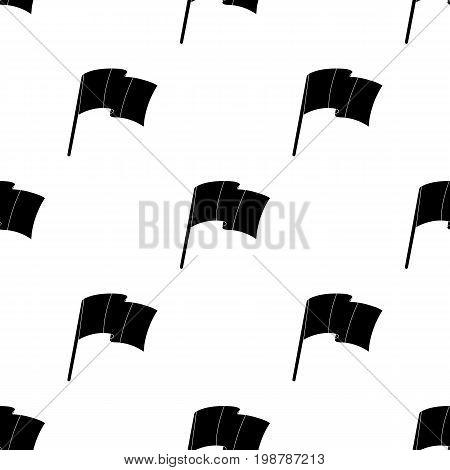 The Belgian flag.The dark Belgian wolf. Belgium single icon in black style vector symbol stock web illustration.