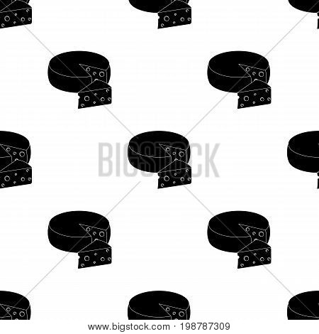 A real Belgian cheese.The dark Belgian wolf. Belgium single icon in black style vector symbol stock web illustration.