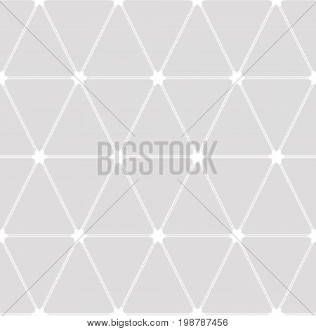 Geometric Abstract Background. Gray Texture.