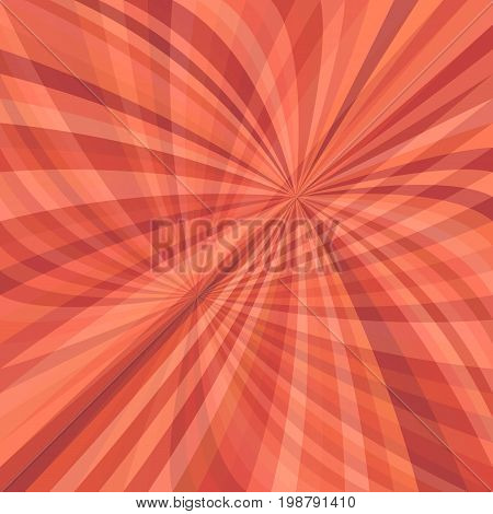 Curved ray burst background - vector graphic design from curved rays in red tones with opacity effect