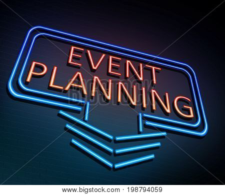 Event Planning Concept.