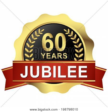 Button 60 Years Jubilee