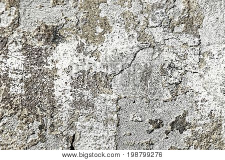 Old wall background, cracked wall, texture , concrete