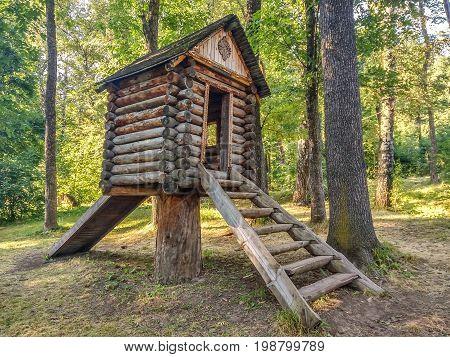 Fabulous House On A Stump