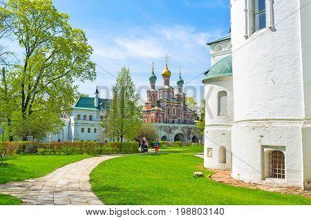 Walking In Novodevichy Convent