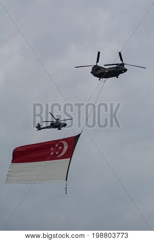 Airshow For Singapore Celebrates 50 Years