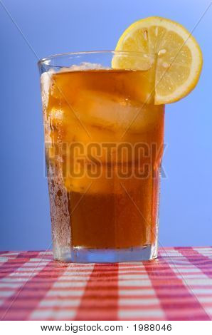 Ice Tea On The Table