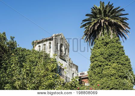 Semi-abandoned Picturesque Prado Neighborhood In Montevideo, Uruguay