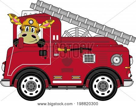 Engine & Giraffe Fireman