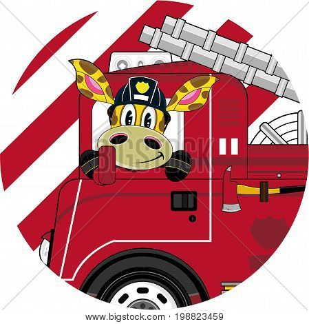 Giraffe Firefighter 1