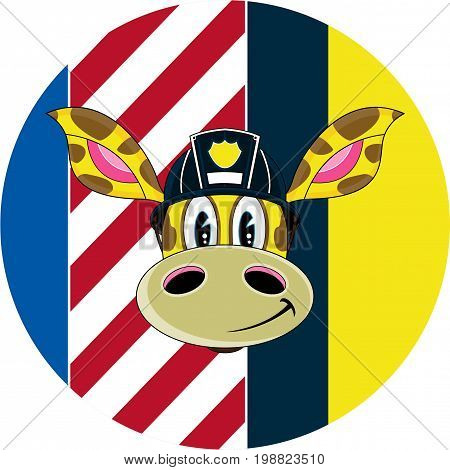 Giraffe Firefighter