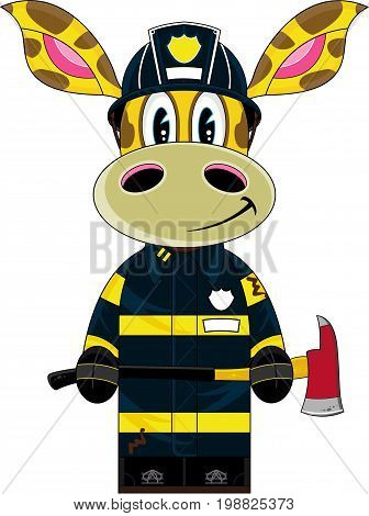 Little Fireman Giraffe
