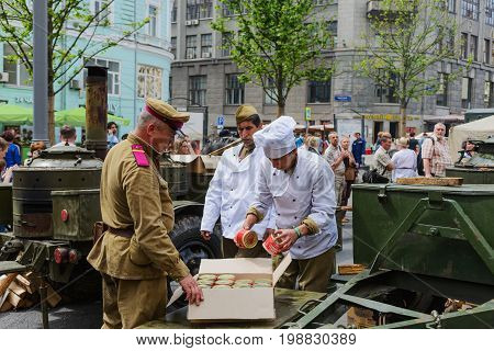 International Festival- Military Field Kitchen