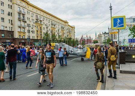 International Festival- Walk Along Tverskaya Street.