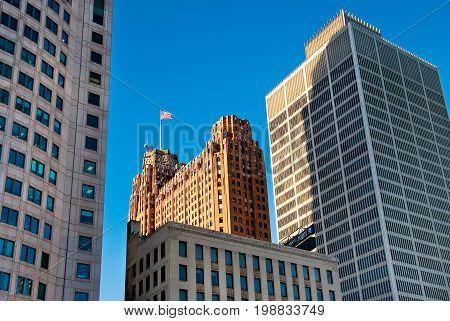 Detroit Classic Buildings