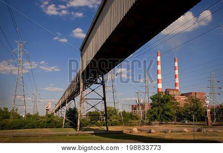 Power Plant Coal