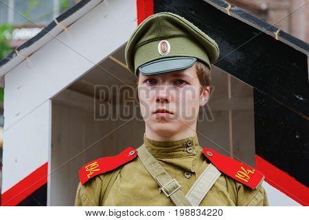 International Festival- Russian Soldier Of The First World War