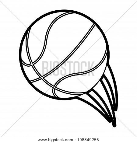 basketball ball icon image vector illustration paint